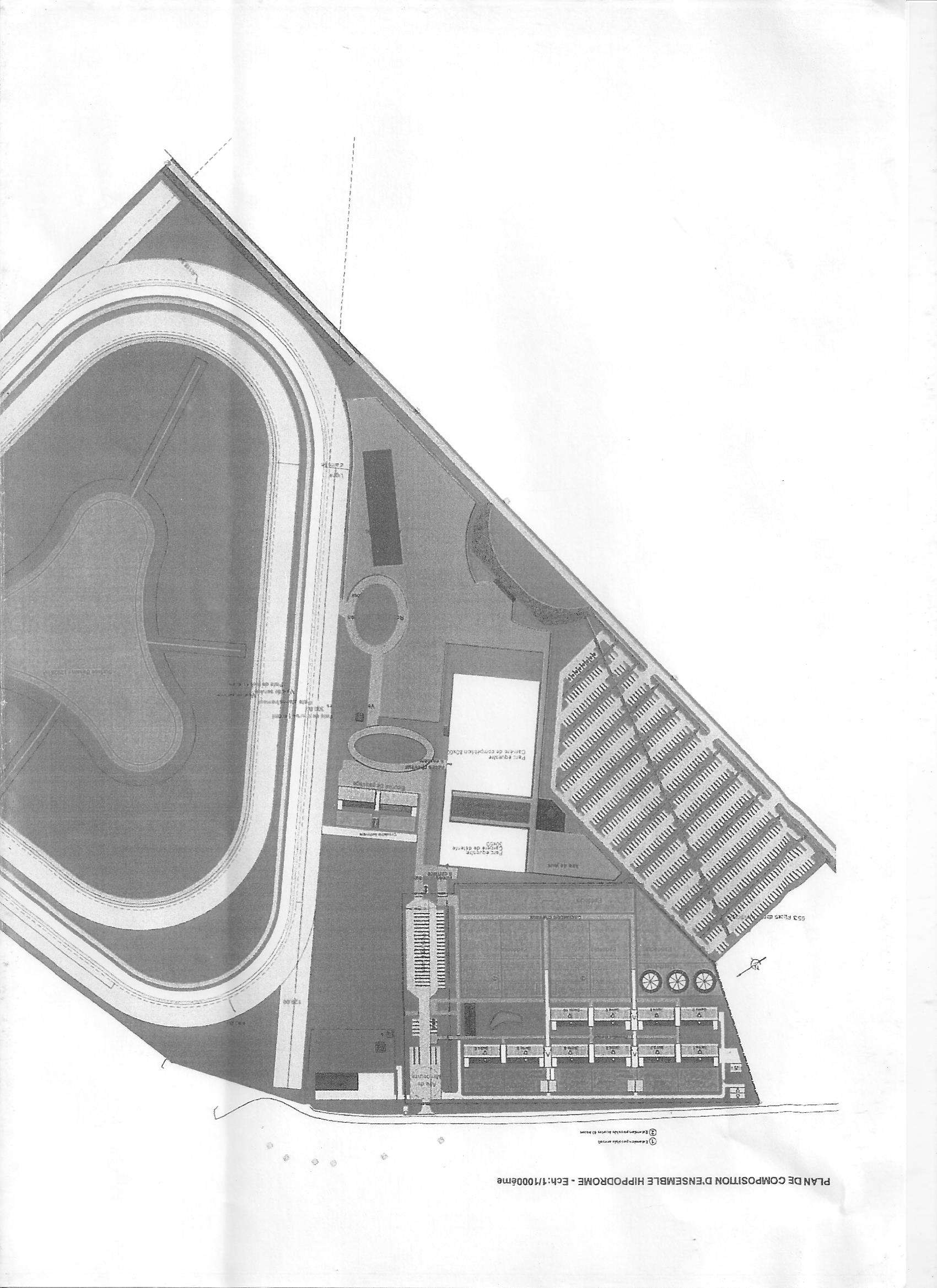 Projet du nouvel hippodrome